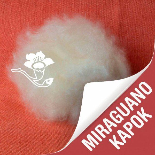 Relleno cojín zafu con miraguano kapok